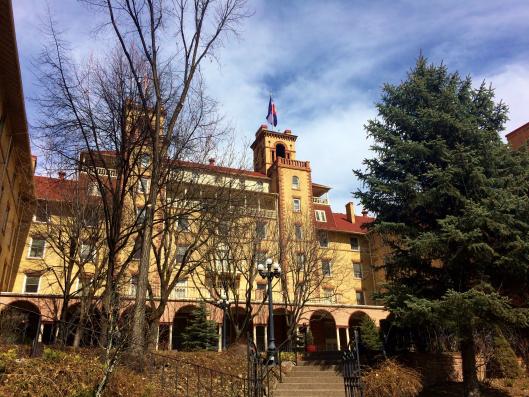 The haunted Hotel Colorado.