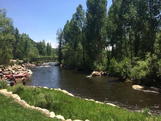 Yampa River in Steamboat Springs