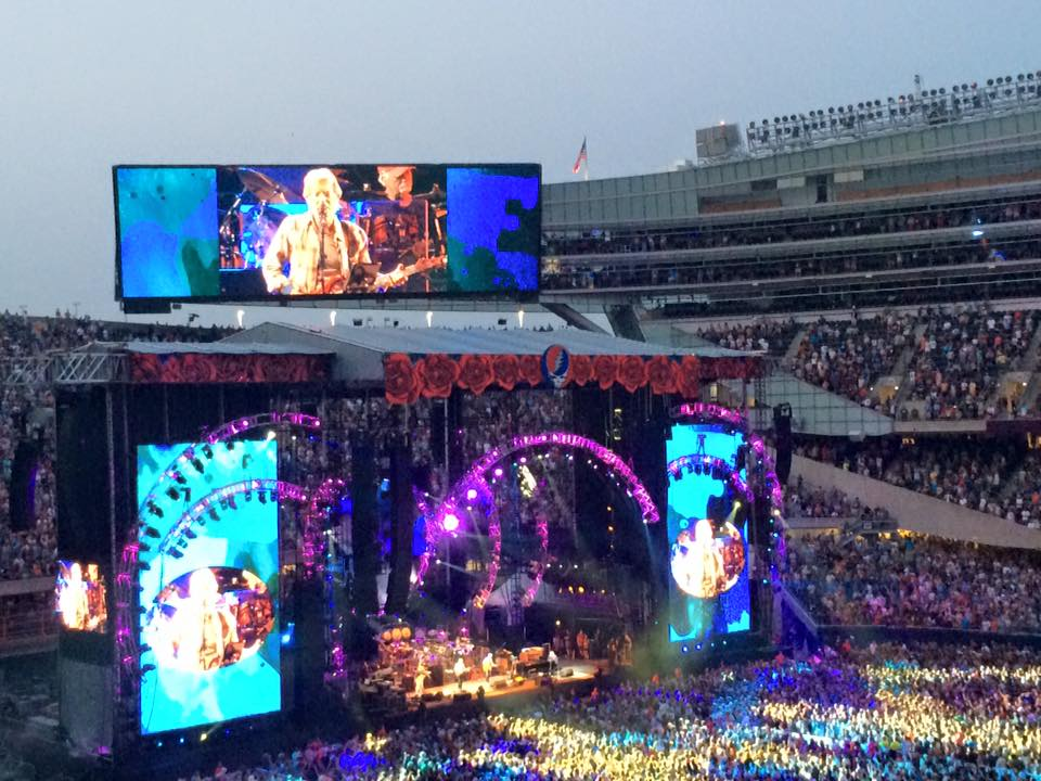 7/4/15~ 4th of July with the Grateful Dead