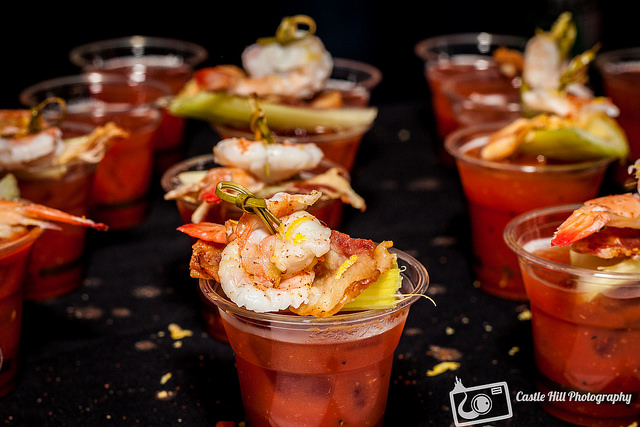 Bloodies at the most recent Bloody Mary Festival in Washington D.C. (May 2016)