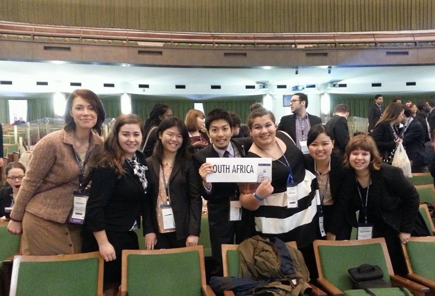 Katherine Greenland, Model United Nations, Rome, Italy