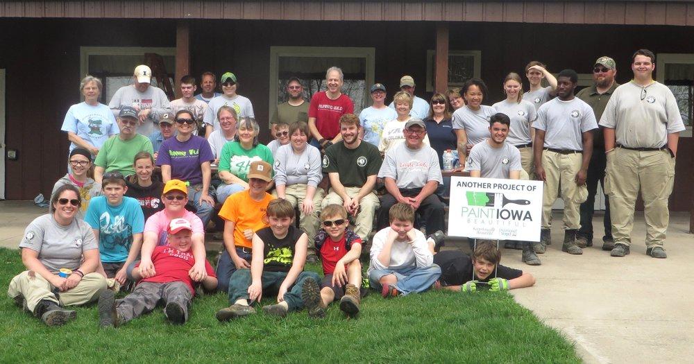 Langwood Volunteer Day 2015