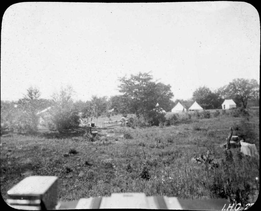 Convict Camp by the Iowa River, Fredonia