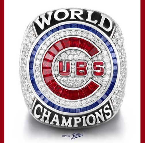 Chicago Cubs World Series Rings Commemorate Teams First