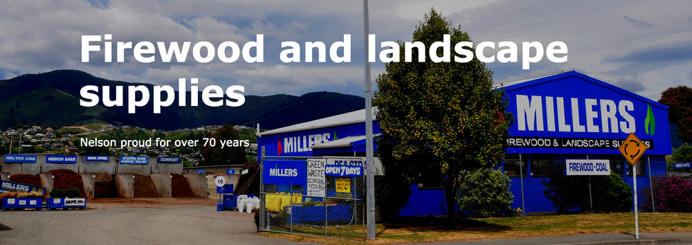 Firewood and Landscape supplies   Nelson proud for over 70 years