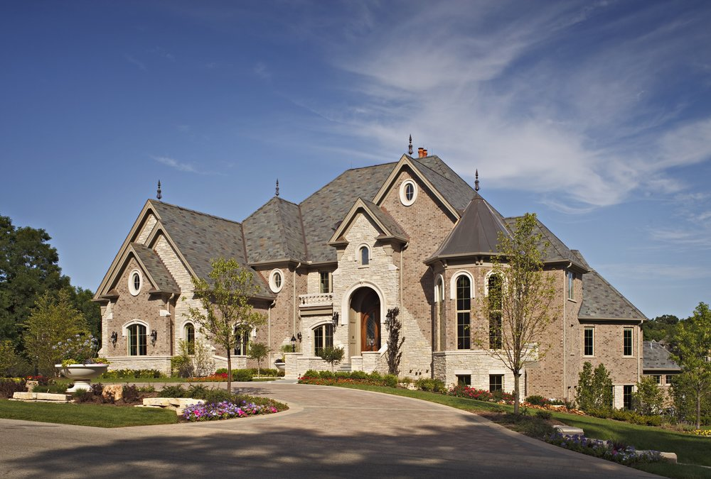 Custom Manor Home in Northern Illinois by Southampton Builders LLC.