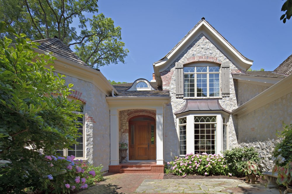 St. Charles IL 60174 Pottawatomie Park Custom Home By Southampton. Overlooking Golf Course and River.