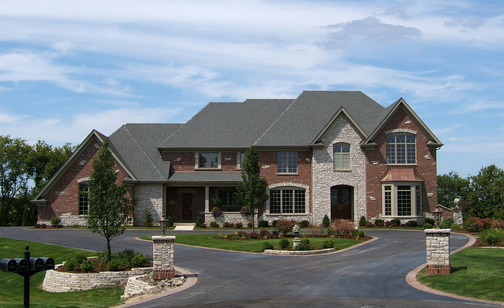 Burr Hill Custom Home by Southampton in St. Charles IL 60175
