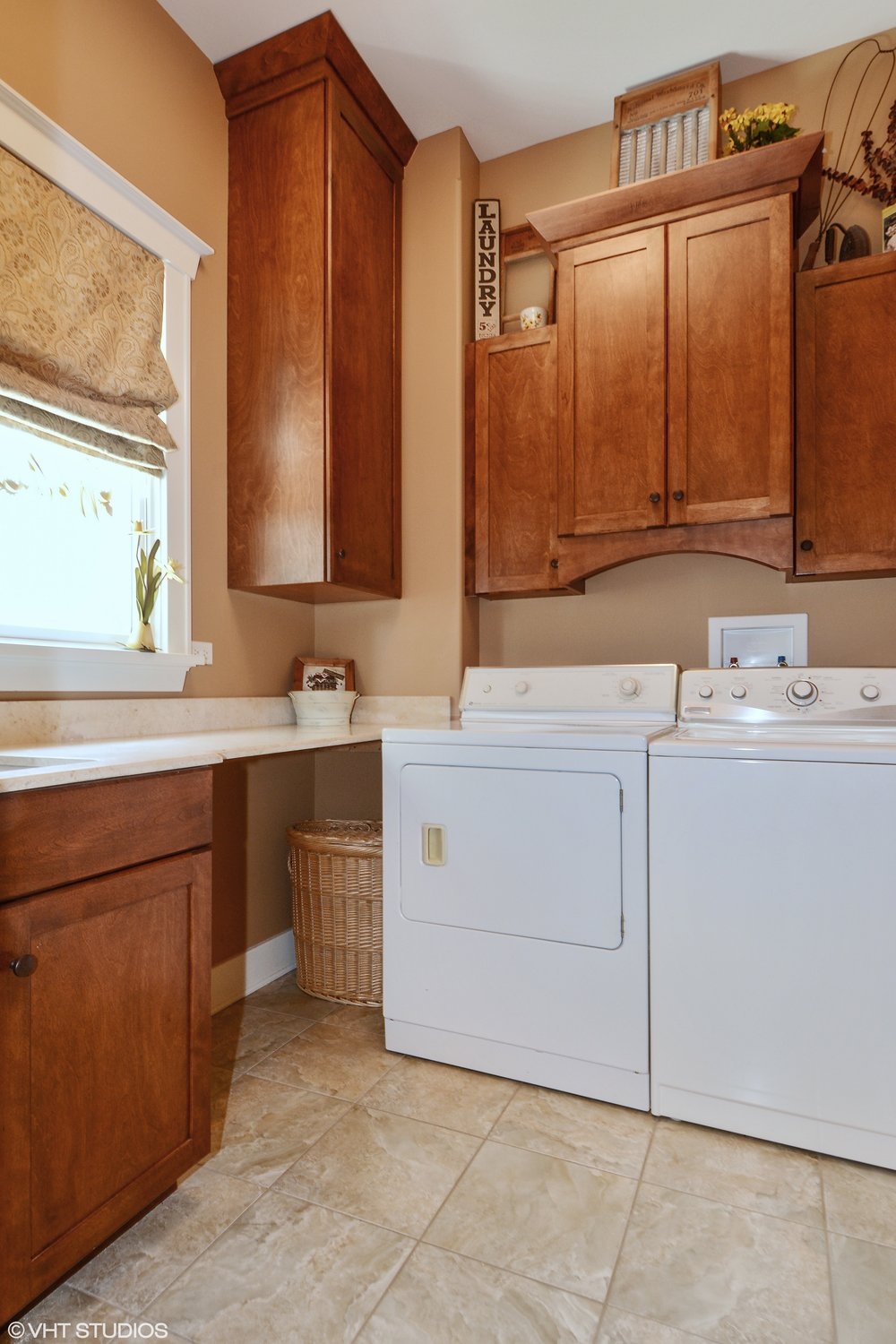 Laundry Room Remodel in Lombard IL Custom Home