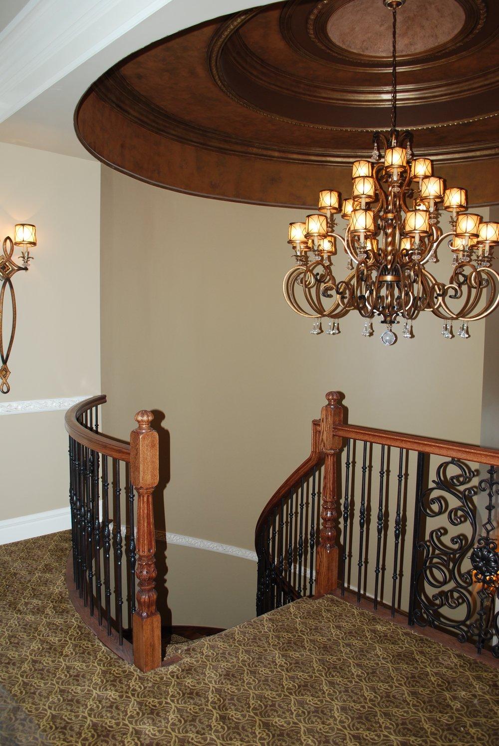 Elegant Foyer Dome Ceiling