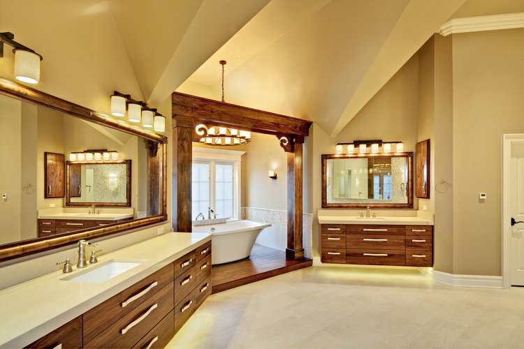 Bathroom Remodeling Illinois Classy Geneva Illinois Bathroom Remodel 60134— Southampton Design Decoration