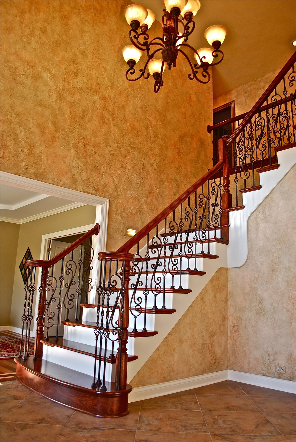 REPLACE STAIR CASE GENEVA IL 60134 IRON