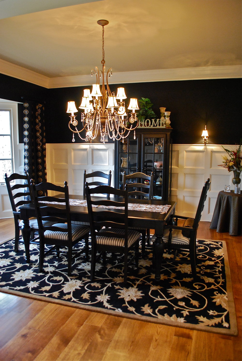 Dining Room Trim Remodeling in St. Charles IL