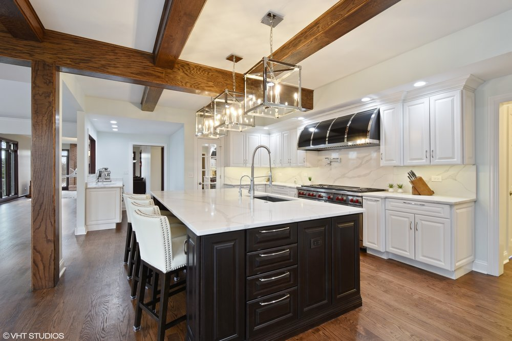 Room Addition in this Barrington Kitchen Remodel