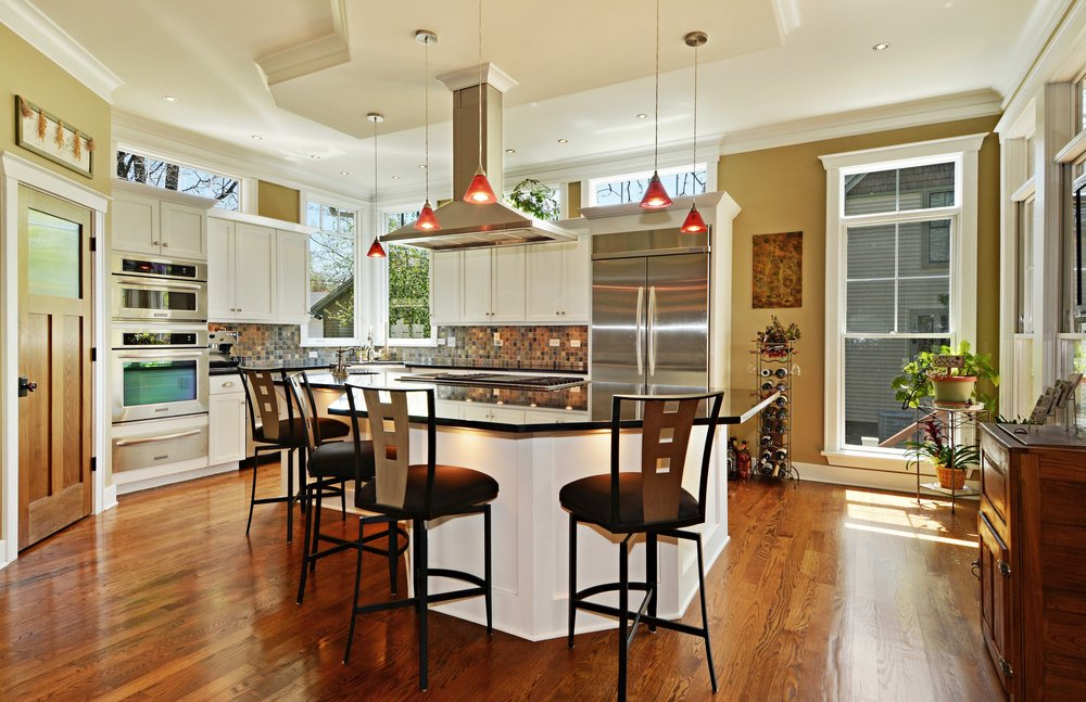 TRANSOMS WINDOWS OVER CABINETRY IN KITCHEN REMODEL