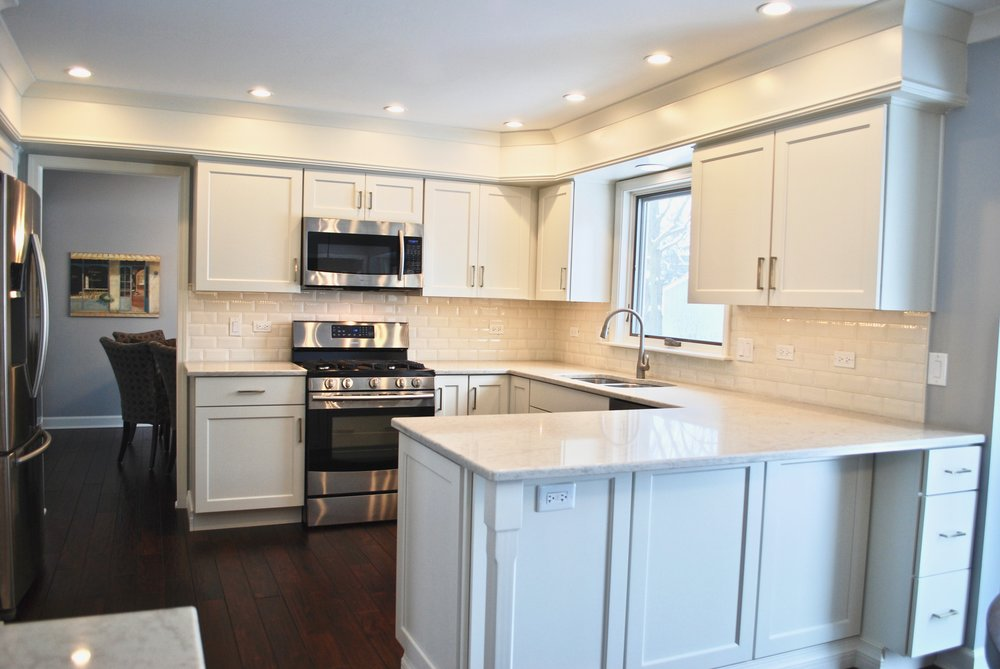 NAPERVILLE KITCHEN REMODELING OF SMALLER TO MEDIUM KITCHENS