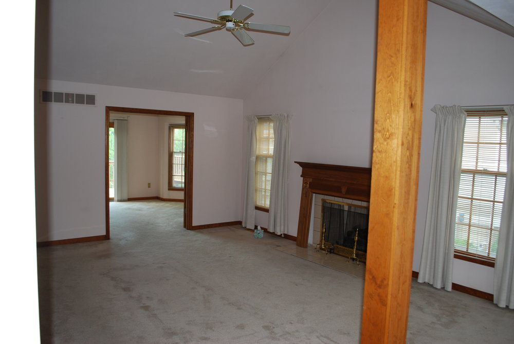 Naperville Townhome Updating Before Listing For Sale- Before Photo. Renovations & Updating
