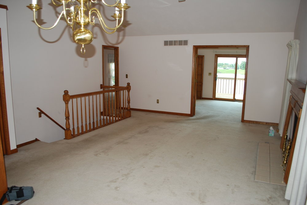 Before Townhome Remodeling & Updating Before Listing for Sale