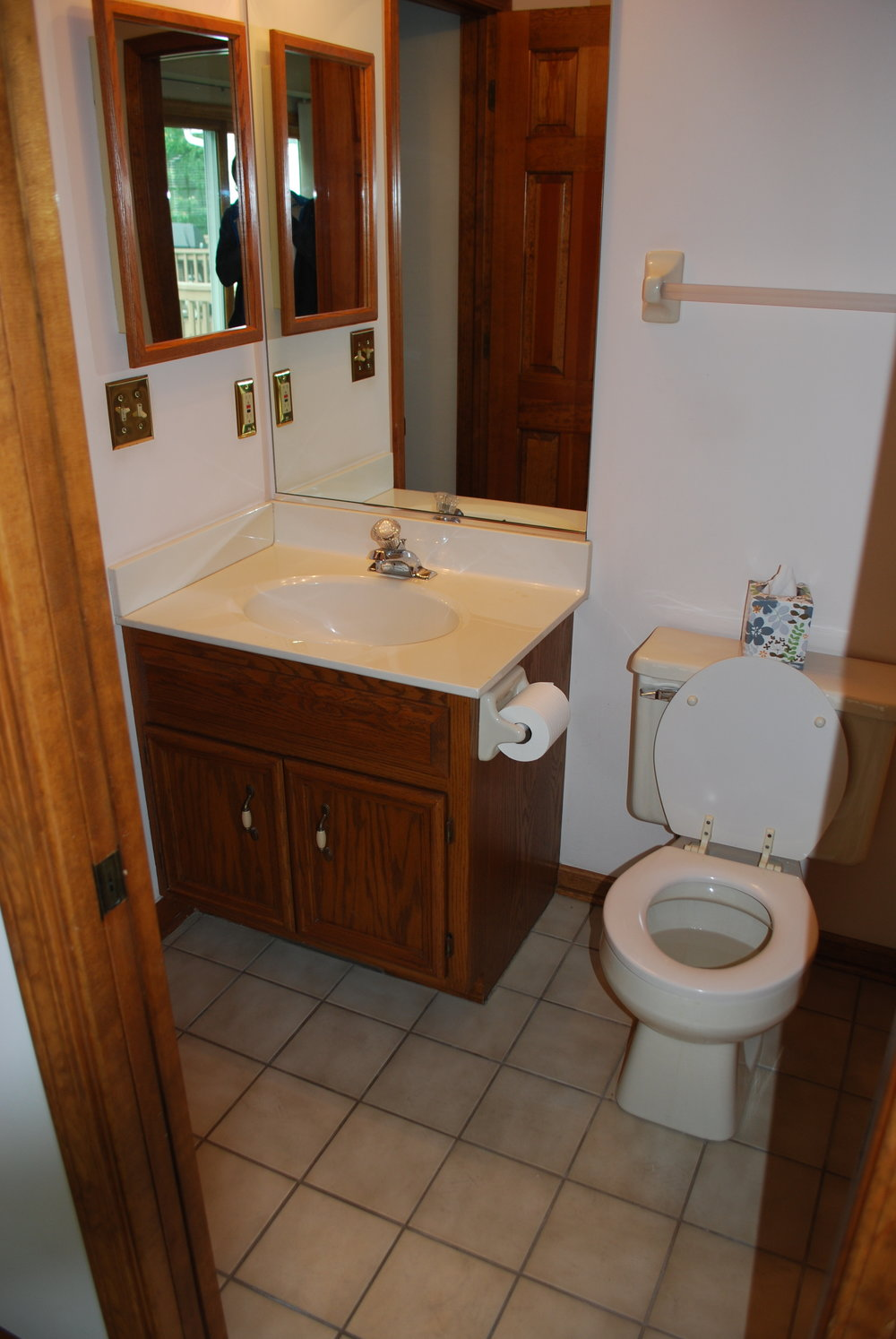 Before Photo for Guest Bathroom Remodel in Naperville IL Townhome Updating. Looking to Update Your Naperville Townhome?  Call Southampton!