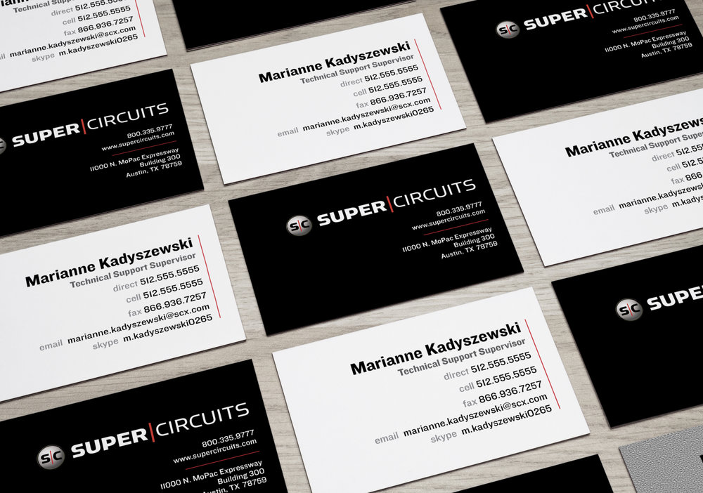 Business Card Refresh -