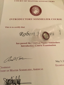 ....When it all began to make sense.. Introductory Court of Master Sommelier in Maui..