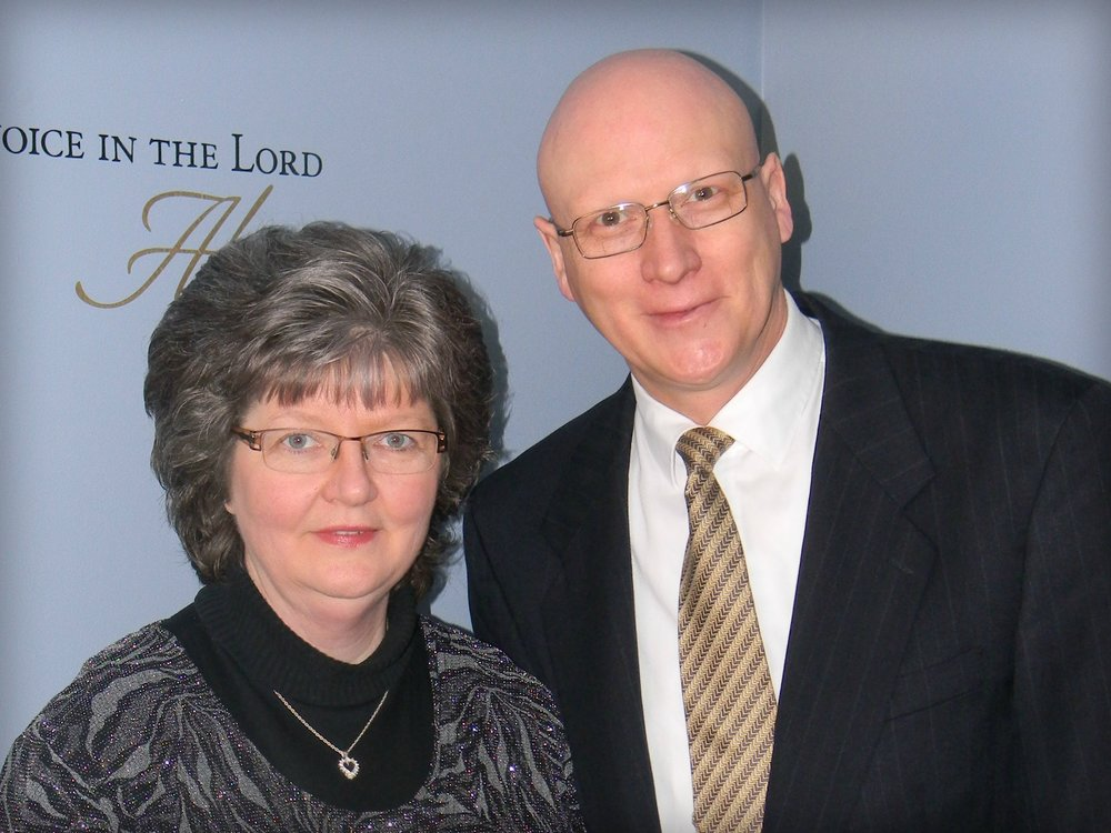 Pastor & Mrs David McQuiggan