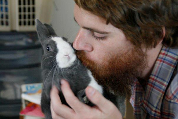 Danny M. and his bunny.