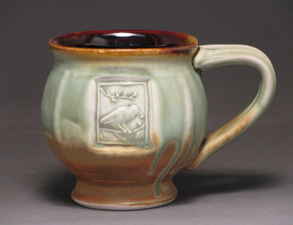 Mug with Clark's nutcracker