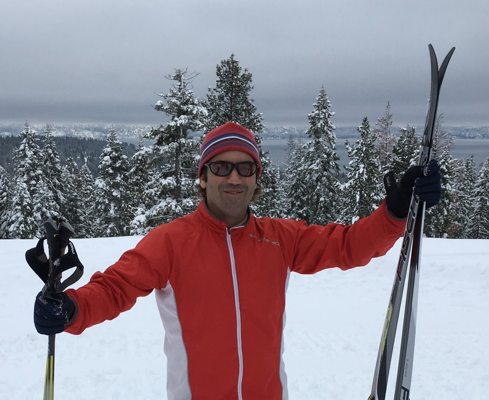 Randy Berenson Randy joined the board in 2016. He has lived on the North Shore of Lake Tahoe for the past 15 years and is a middle school teacher in Incline Village. His volunteer work with TXC began 13 years ago when he coached Strider Gliders and learned to cross country ski alongside the kids. Thus began his year-round love for cross country skiing. Randy serves on the Fundraising Committee and is excited about what the future holds!