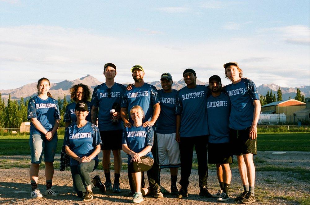 The 2018 Blande Gruffs Softball team.