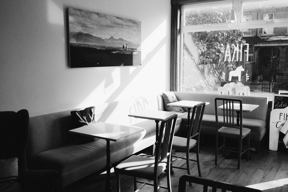 Interior, Fika Cafe.Kensington Market, Toronto.