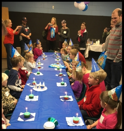 Happy Birthday Baby Jesus party for the little ones