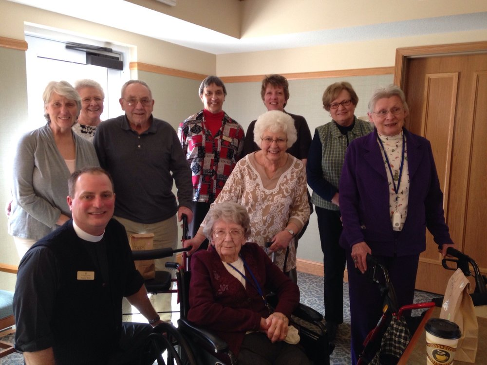 Pastoral Care Lunch with residents at Valley Ridges