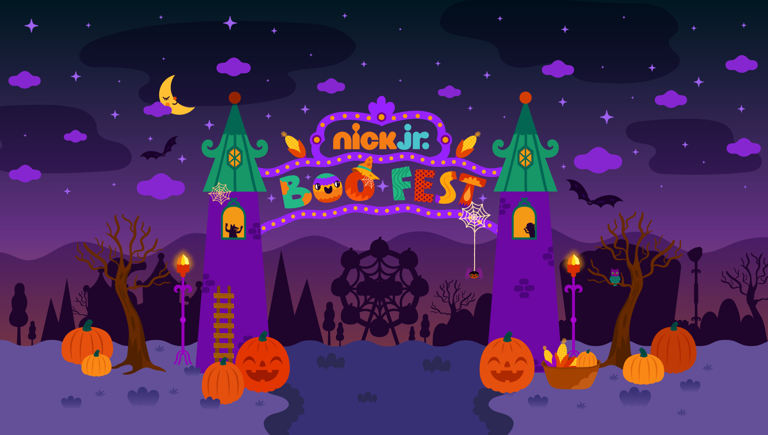 Nick Jr. TV Halloween Campaign — Muxxi