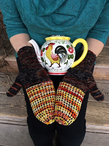 Chicken Coop Mitts