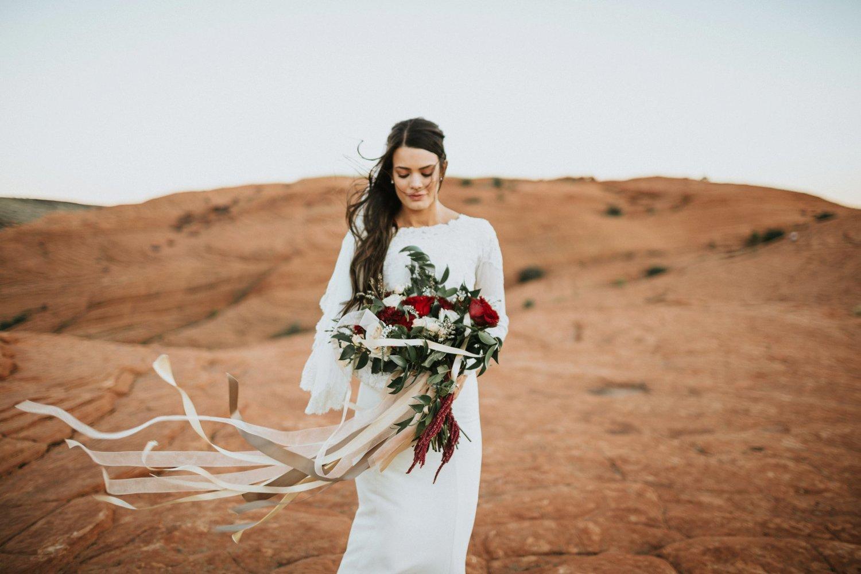 Windswept Love - St. George, UT Wedding Florist — Jocelyn\'s Floral
