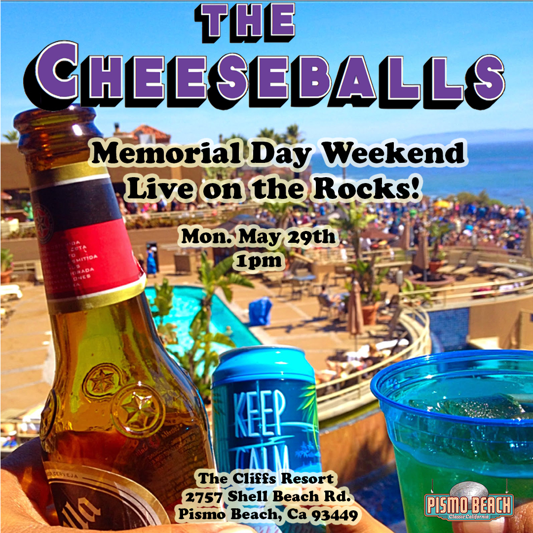 Live on the Rocks! Memorial Weekend, Pismo Beach — The