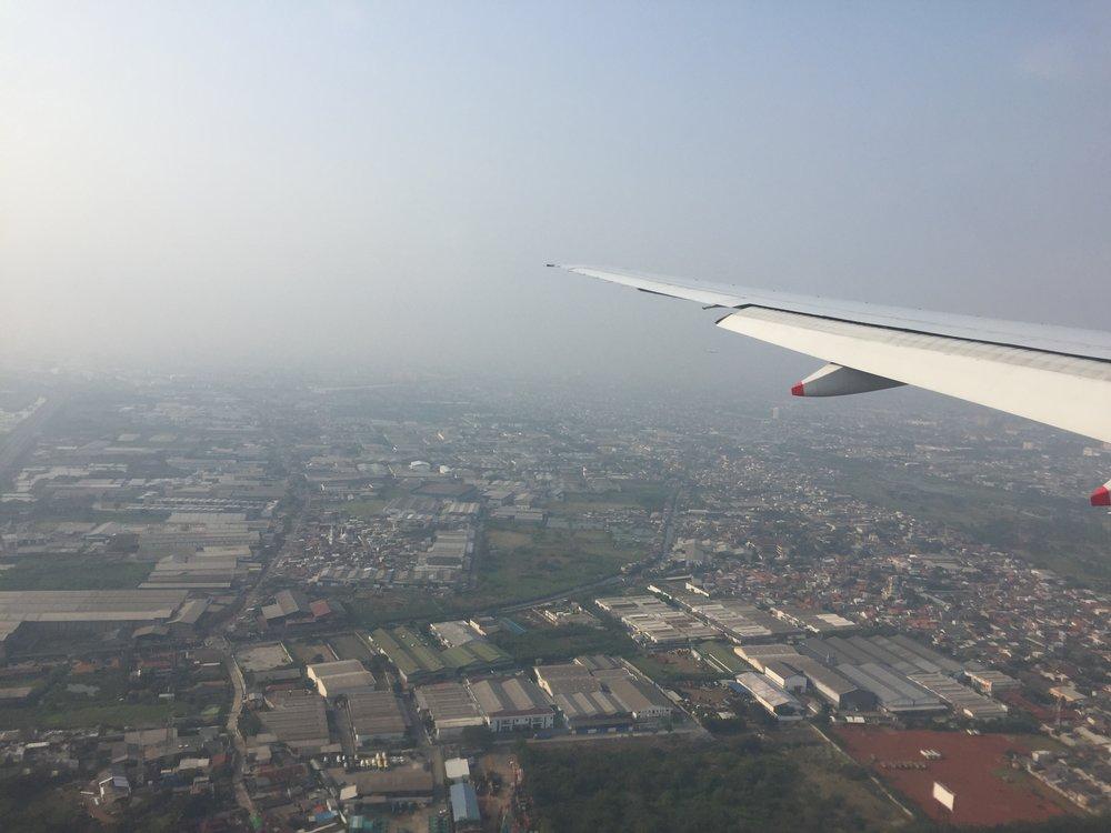 Jakarta is little bit smoky today:).