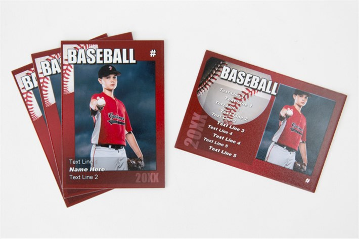 Your athletes can feel like pros with their own personalized Trader Cards.