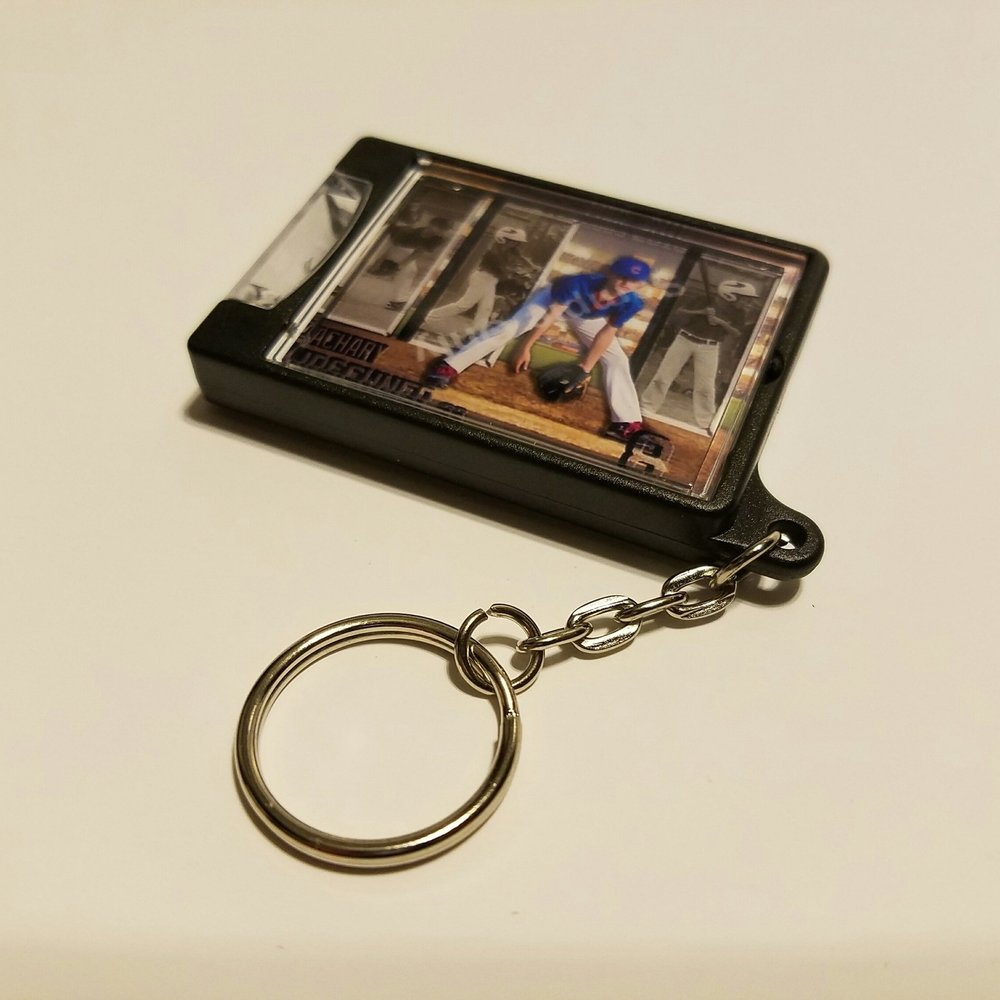 Flashlight keychain  approximately 1.3x1.8