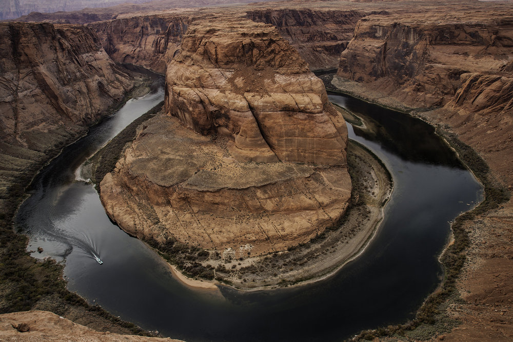 Horseshoe Bend Page by Peter Simmonds