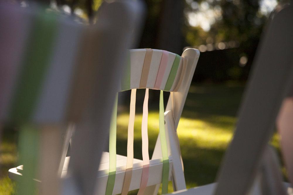 Aisle + Chair Decoration -