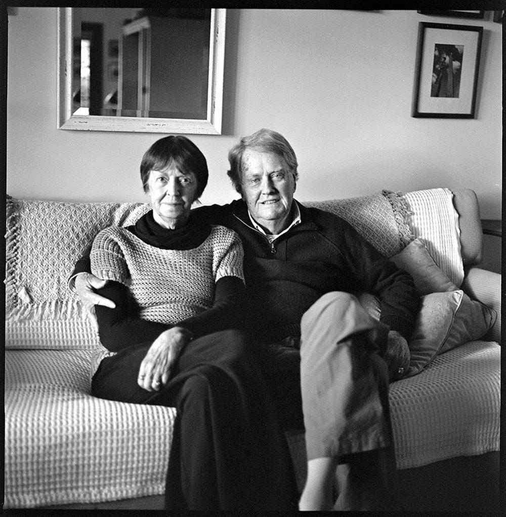 Val & Colin Sutton (Photo by Matthew Sutton)
