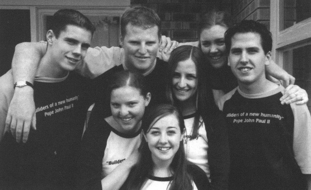 Back Row: David Haydon, Phil Kelly Front Row: Heather Cross, Robyn Lalor, Lidia Galea nee Seselja, Nick Seselja