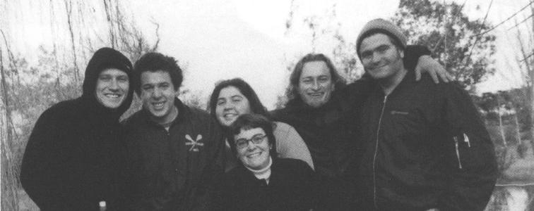 Left to Right: Blair McWhinney, Mark Cummins, Lucia MacFarlane, Sarah Reeves, Michael Harrington, Steve McKinley, Susie Atkins (absent)