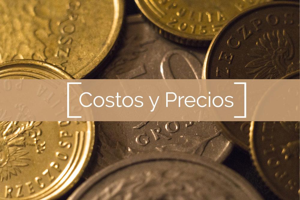 Costos y Precios
