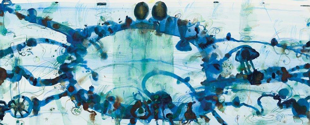 John Olsen, Harbour Pool