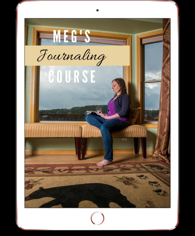 meg's journaling course