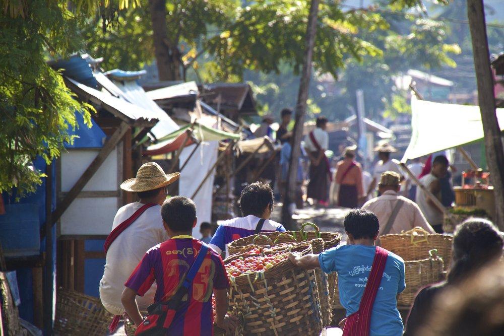 Nyaung Shwe Inle Lake Myanmar