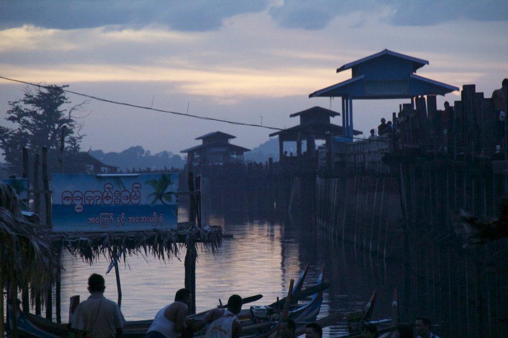 U Bein Bridge Mandalay Burma Myanmar 21.jpg